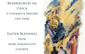 Easter Blessings from Mary Immaculate College