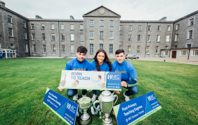 Students from MIC Thurles pictured on campus for the MIC Thurles Open Day taking place on 23 November