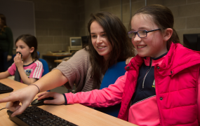 CoderDojo classes for kids at Mary Immaculate College