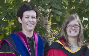 Dr Aisling Leavy (left) and Dr Mairead Hourigan (right)