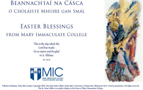 MIC's Easter Blessing card