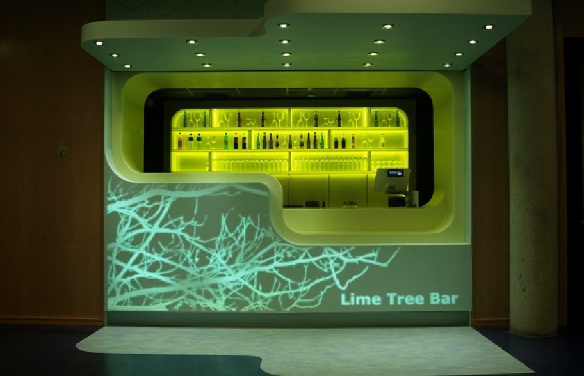 Lime Tree Theatre bar