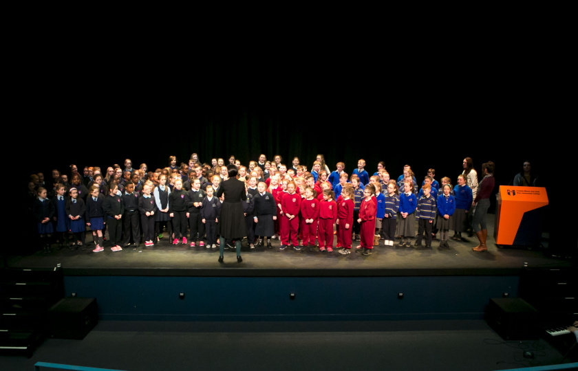 Choir performance at Lime Tree Theatre