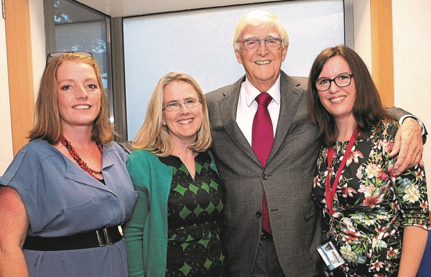 Michael Parkinson at Lime Tree Theatre