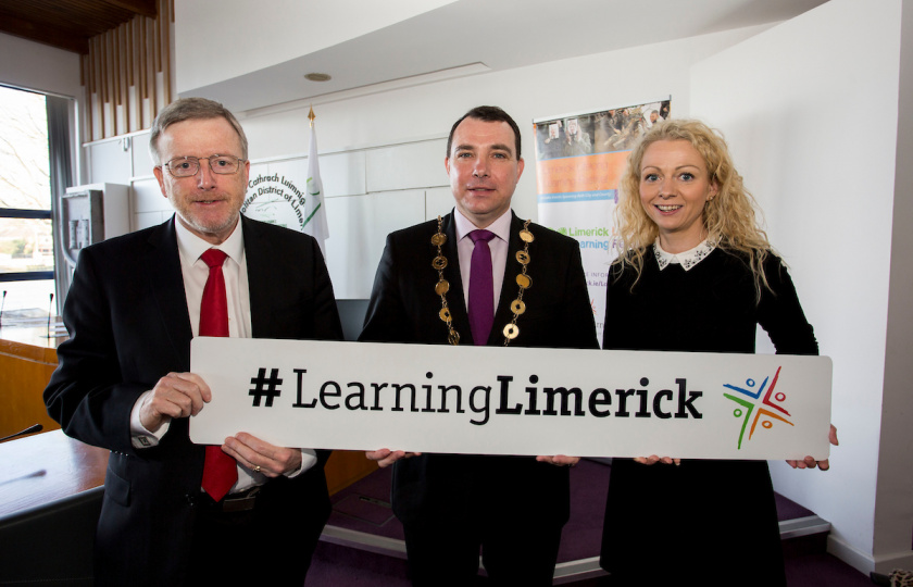 Limerick Lifelong Learning Festival 2019 Eugene Wall Maeve Liston
