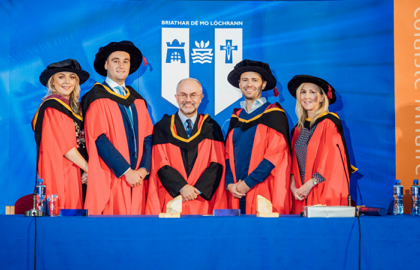 Dr Adele Hannon, Dr Ian Hickey, Dr Eugene O'Brien (MIC), Dr Graham Francis Burton & Dr Anne O'Keeffe (MIC)