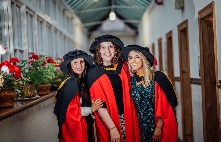Dr Lainey Keane, Dr Maura Moriarty and Dr Kayleigh Sheerin, all of whom hail from Co Kerry
