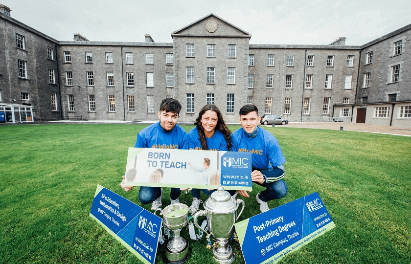 3 MIC Thurles students at MIC Thurles Open Day 2018