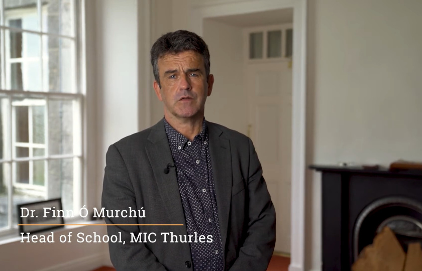 Dr Finn Ó Múrchu, Head of School at MIC Thurles