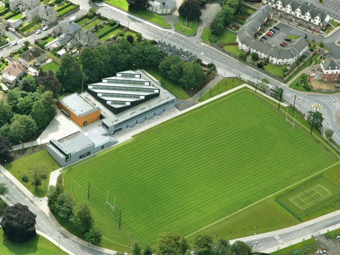 Aerial view of MIC Limerick sports facilities