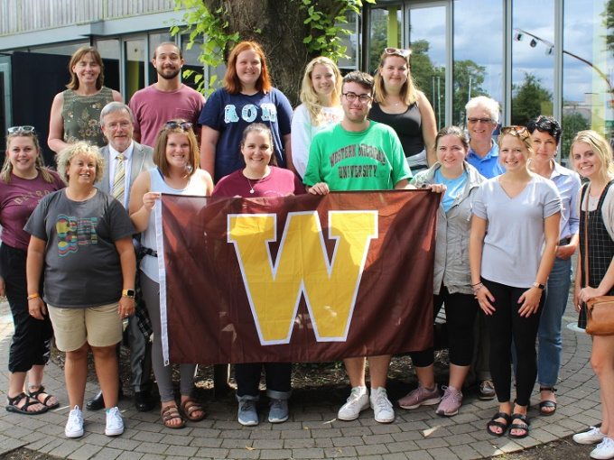 Western Michigan University on a visit to MIC Limerick